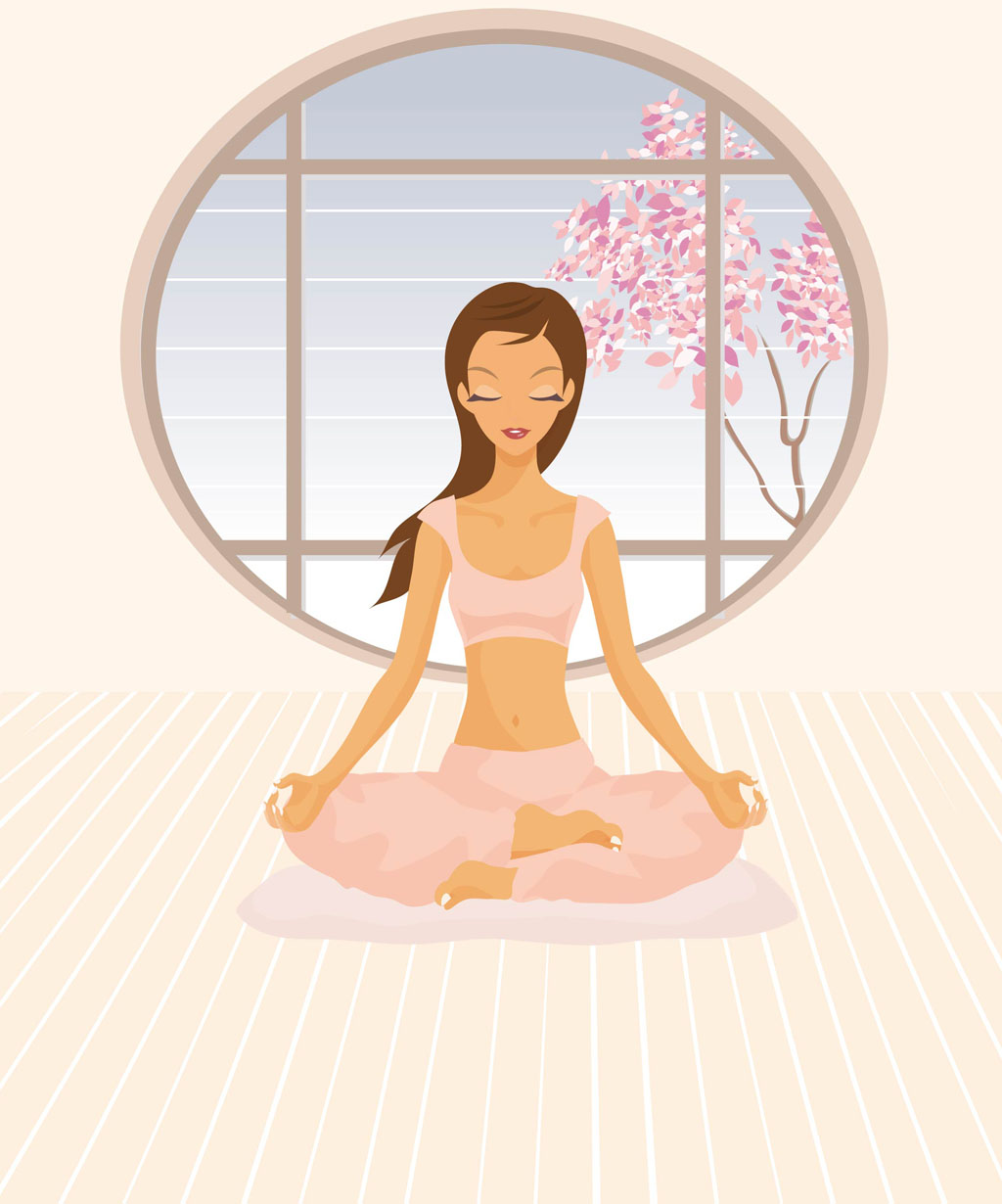 Открытка тренеру по йоге